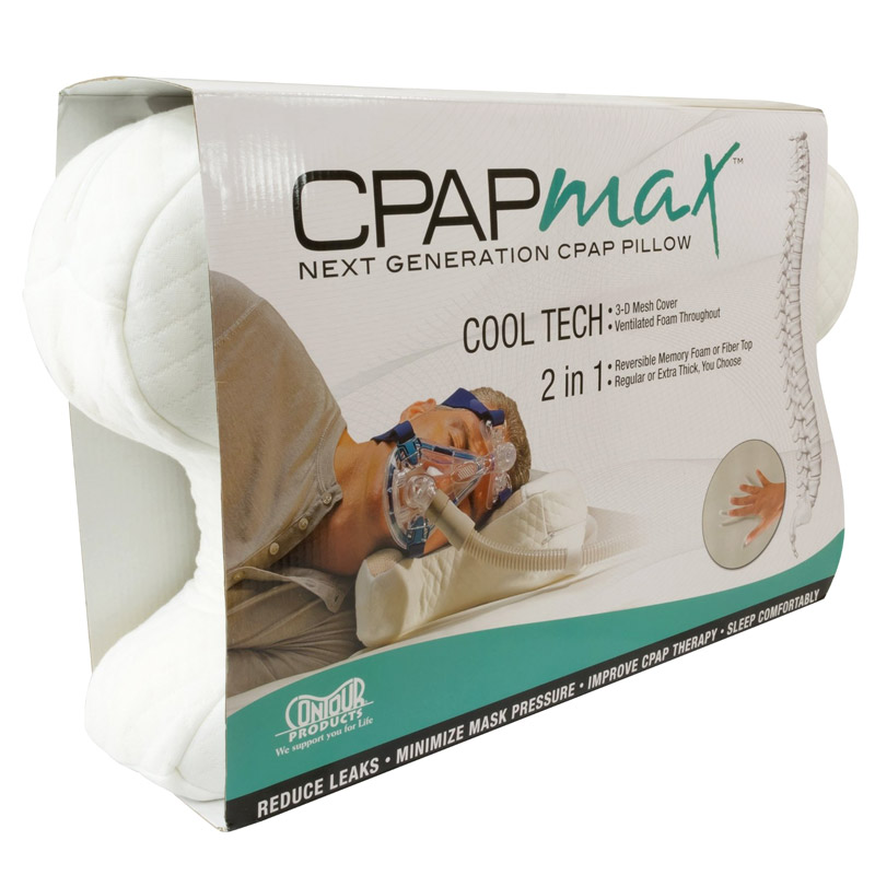 CPAP Contour MAX Pillow - Absolute Respiratory